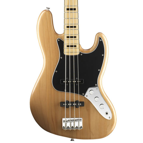 Squier Vintage Modified 70's Jazz Bass - Maple Neck - Natural