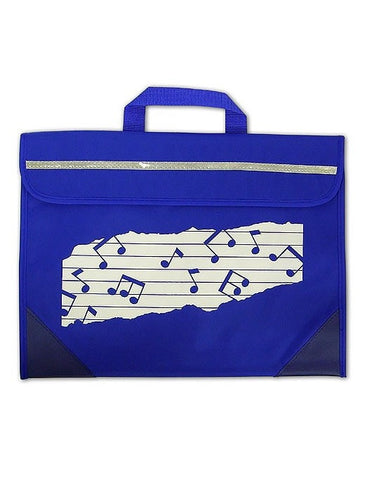 Mapac Music Bag Duo - Music Notes - Blue