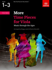 More Time Pieces for Viola - Book 1 (Grades 1-3)