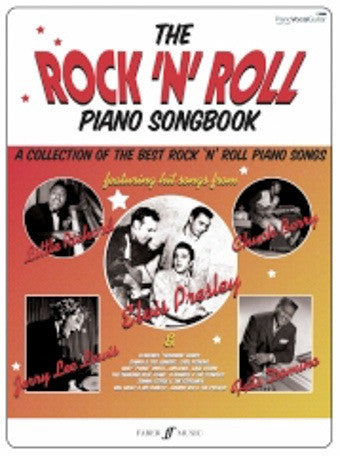 The Rock 'N' Roll Piano Songbook - PVG
