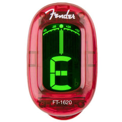 Fender FT-1620 California Series Guitar Tuner - Candy Apple Red