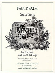 P. Reade: Suite from the Victorian Kitchen Garden - Clarinet + Piano/Harp