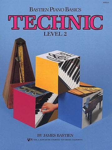 Bastien Piano Basics: Technic Level 2