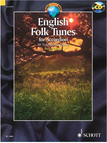 English Folk Tunes for Accordion (with CD)