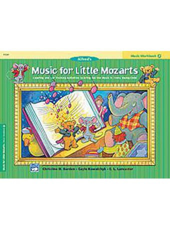 Music for Little Mozarts: Music Workbook 2 - Piano