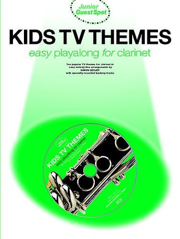 Junior Guest Spot: Kids TV Themes - Easy Playalong (Clarinet + CD)