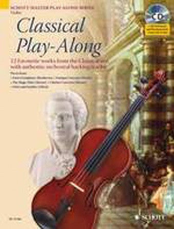 Classical Play-Along (Violin + CD)