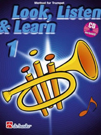 Kastelein/Sparke: Look, Listen + Learn 1 (Trumpet or Cornet + CD)