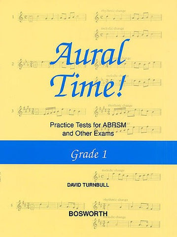 Aural Time! Practice Tests - Grade 1