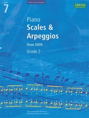 ABRSM Grade 7 Piano Scales + Arpeggios (from 2009)