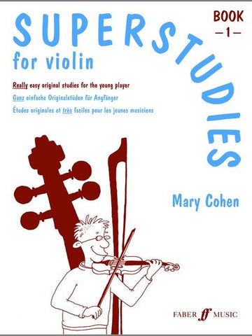Superstudies for Violin - Book 1