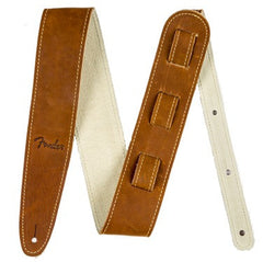 Fender Ball Glove Brown Leather Strap