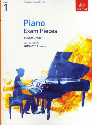 ABRSM Grade 1 Piano Exam Pieces 2013-2014