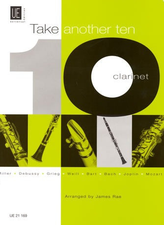James Rae: Take Another Ten (Clarinet/Piano)