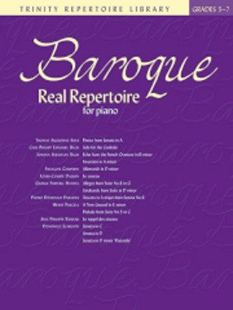 Baroque Real Repertoire - Grades 5-7 - Piano