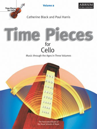 Time Pieces for Cello + Piano - Volume 2