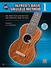 Alfred's Basic Ukulele Method (with CD)