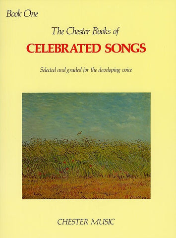 The Chester Book Of Celebrated Songs - Book One - Voice + Piano