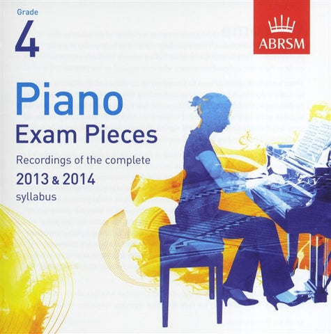 ABRSM Piano Exam Pieces 2013-2014 - Grade 4 - CD Only