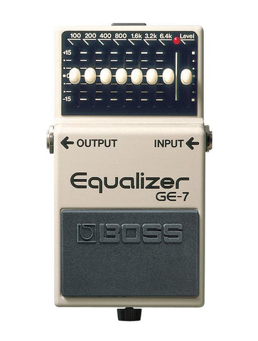 Boss GE-7 Seven Band Graphic Equalizer Pedal
