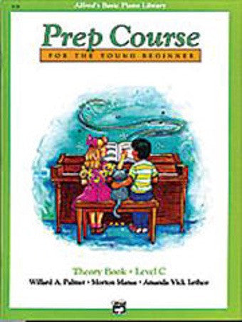 Alfred's Basic Piano Prep Course - Theory Book - Level C