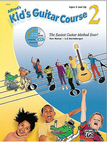 Alfred's Kid's Guitar Course - Book 2 (with CD)