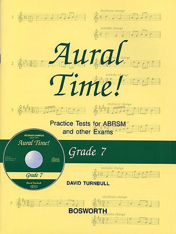 Aural Time! Practice Tests - Grade 7 (with CD)