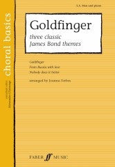 Goldfinger: 3 Classic James Bond Themes - SA Men + Piano