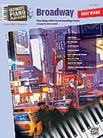 Ultimate Piano Play-Along - Volume 2 - Broadway - Piano