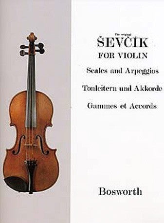 Sevcik for Violin: Scales and Arpeggios