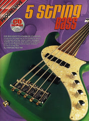 Progressive 5 String Bass (Bass Guitar + CD)