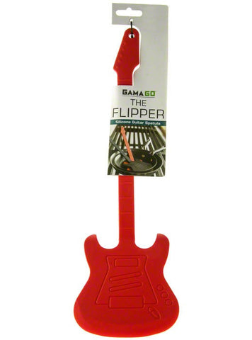 The Flipper Guitar Cooking Spatula - Red