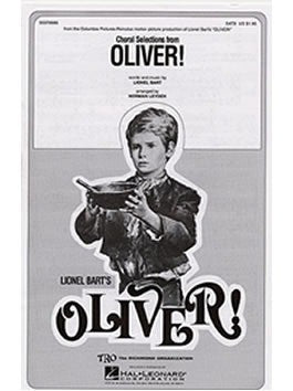 Lionel Bart: Choral Selections from Oliver! SATB + Piano