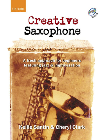 Creative Saxophone (with CD)