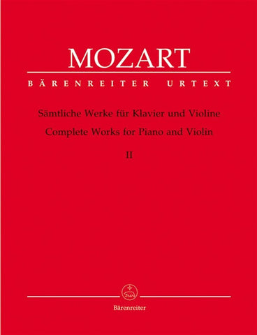 Mozart Complete Works - Volume 2 - Violin