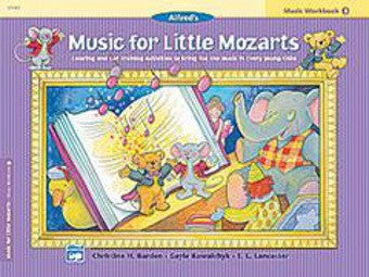 Music for Little Mozarts: Music Workbook 4 - Piano