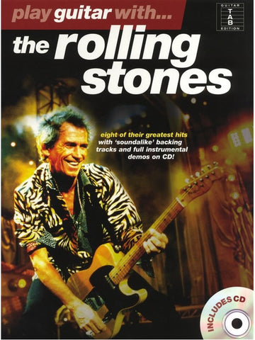 Play Guitar With... The Rolling Stones - Guitar Tab (with CD)