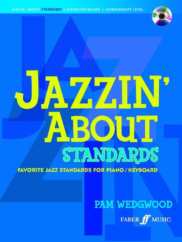 Jazzin' About Standards - Piano/Keyboard (with CD)