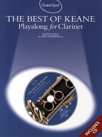 Guest Spot: The Best Of Keane - Playalong For Clarinet (with CD)