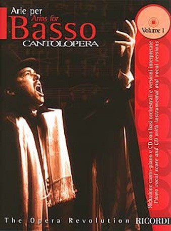 Cantolopera: Arias for Bass Volume 1 (Voice/Piano + CD)