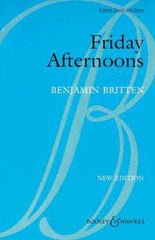 Benjamin Britten: Friday Afternoons Op.7 (Unison Voices/Piano)