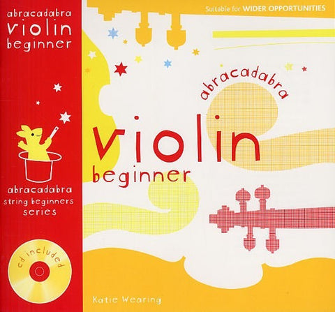 Abracadabra Violin Beginner - Pupils Book (with CD)