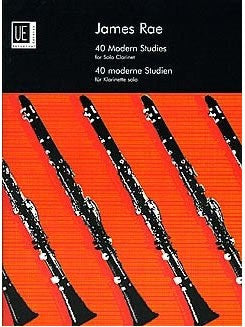 James Rae: 40 Modern Studies - Clarinet