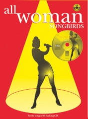 All Woman - Songbirds - book + CD - PVG