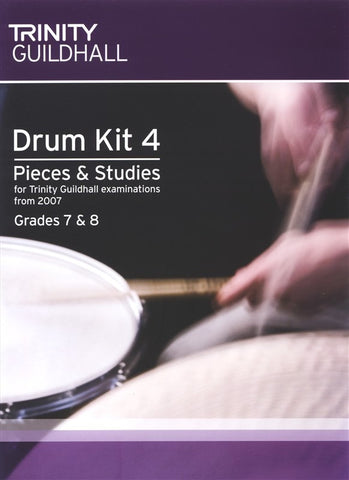 Trinity Guildhall - Drum Kit 4 Pieces And Studies - Gd 7-8 2007-09