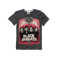 Black Sabbath T-Shirt (Charcoal) - Medium