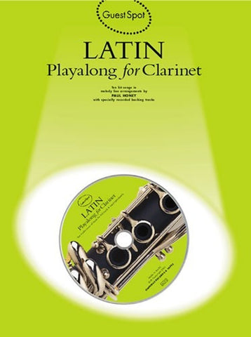 Guest Spot: Latin Playalong For Clarinet (with CD)