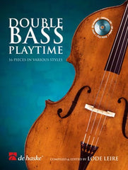 Double Bass Playtime (Double Bass/Piano + CD)