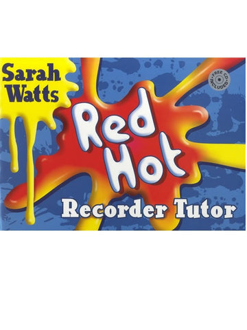Red Hot Recorder Tutor - Descant Recorder (with CD)