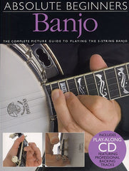 Absolute Beginners - Banjo (with CD)